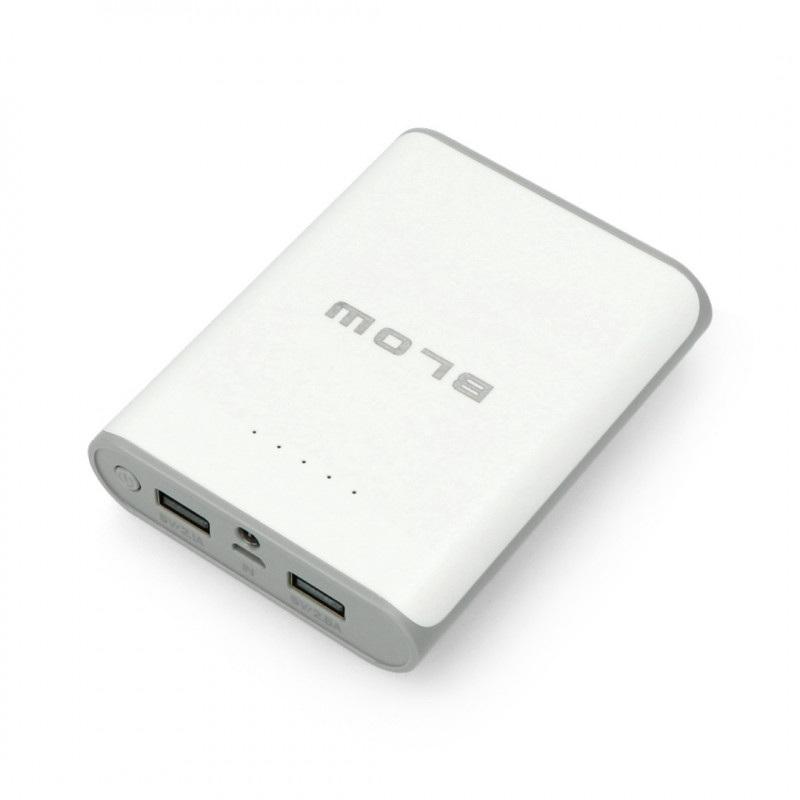 Mobilna bateria PowerBank Blow PB14 14000mAh - biały