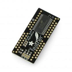 Adafruit LED FeatherWing - 4x 14-segmentowy wyświetlacz - nakładka dla Feather