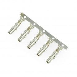 Pin żeński do obudowy wtyku raster 5,08mm 5szt.