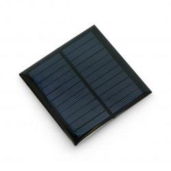 Ogniwo słoneczne 1W / 5,5V 95x95x3mm