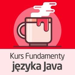 Kurs Fundamenty języka Java - wersja ON-LINE