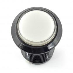 Arcade Push Button 3,3cm - czarny z białym podświetleniem