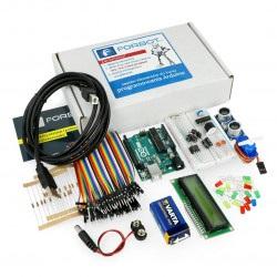 Podstawy Arduino - zestaw elementów z Arduino Uno + bezpłatny kurs ON-LINE