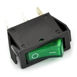 przełącznik - zielony