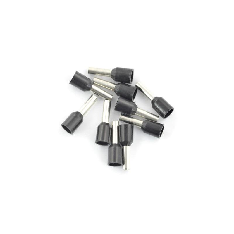 Końcóka rurkowa izolowana 2,5/8mm - 10 szt.