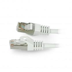 Przewód sieciowy Lanberg Ethernet Patchcord FTP 5e 30m - szary