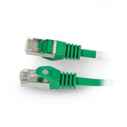 Przewód sieciowy Lanberg Ethernet Patchcord FTP 5e 30m - zielony