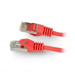 Przewód sieciowy Lanberg Ethernet Patchcord FTP kat. 5e 30m - czerwony