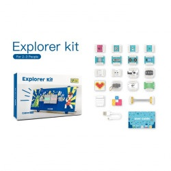 Grove Zero Explorer Kit - zestaw elementów łączonych magnetycznie - 17 modułów