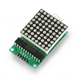 Matryca LED 8x8 + sterownik...