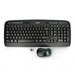 Zestaw bezprzewodowy Logitech MK330 - klawiatura + mysz - czarna