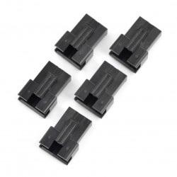 Obudowa wtyku męskiego 4-pinowego - raster 2,5mm