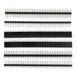 Zestaw goldpin raster 2,54mm - mini