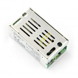 Zasilacz montażowy T-15W-12V do taśm i pasków LED 12V / 1,25A / 15W