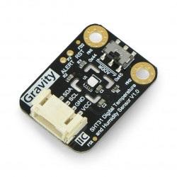 SHT31-F - cyfrowy czujnik temperatury i wilgotności I2C - DFRobot SEN0334