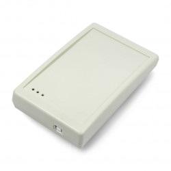 Czytnik biurkowy RFID PAC-PUG - 13,56MHz - beżowy