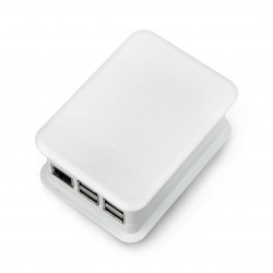 Obudowa TEKO dla Raspberry Pi Model 3/2/B+ z nakładką GPIO - jasnoszara