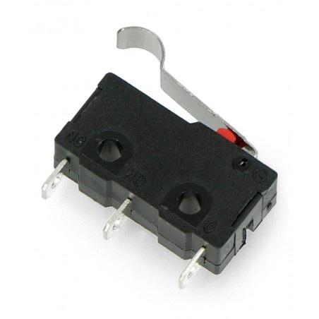 Wyłącznik czujnik krańcowy mini z dźwignią - WK621