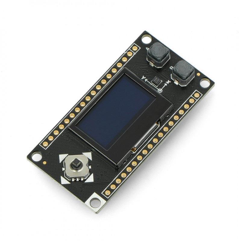 DFRobot wyświetlacz OLED niebieski 0,96'' 128x64px - I2C- dla FireBeelte