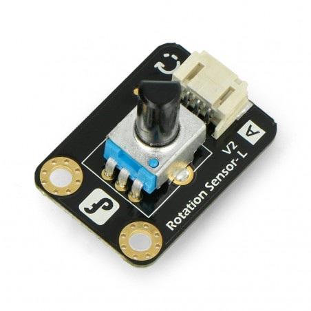Analogowy potencjometr obrotowy V1 dla Arduino i Raspberry - DFRobot Gravity