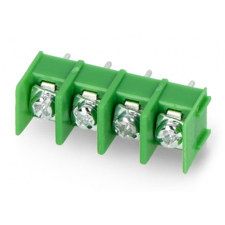 Listwa barierowa do PCB, 4-pinowa, raster 8,5mm