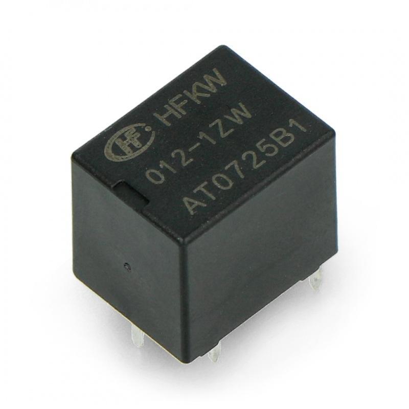 Przekaźnik HFKW-012-1ZW - cewka 12V, styki 20A/16VDC