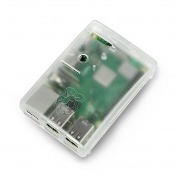 Obudowa do Raspberry Pi model 3/2/B+ - przezroczysta