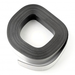 Taśma magnetyczna samoprzylepna - 25mm dł.10m