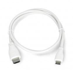 Przewód miniHDMI - HDMI...