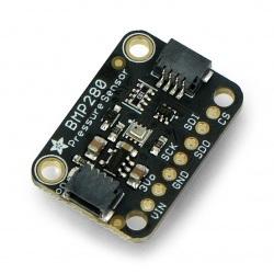 BMP280 - cyfrowy barometr, czujnik ciśnienia 110kPa I2C/SPI 3-5V - STEMMA QT - Adafruit 2651