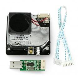 Laserowy czujnik pyłu / czystości powietrza SDS011 - 5V UART/PWM