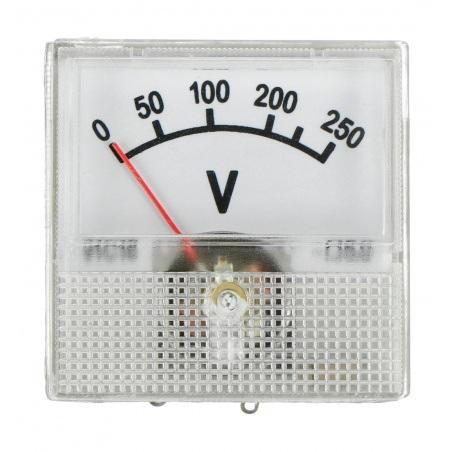 Woltomierz analogowy 91C16 Mini - 250V
