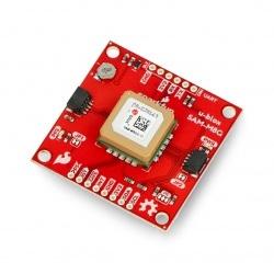 Moduł GPS SAM-M8Q - Qwiic - antena PCB - SparkFun GPS-15210