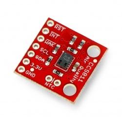 CCS811 - czujnik czystości powietrza, CO2 I2C - SparkFun SEN-14193