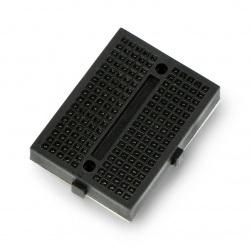 Płytka stykowa - 170 otworów - czarna