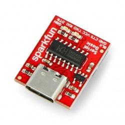 Konwerter USB-UART FTDI CH340C 3,3/5V USB typ C - SparkFun DEV-15096