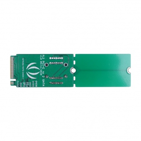 Konwerter PCIe 3.0x2 M.2 NGFF Key B na SATA 3.0 6 Gb/s - 2