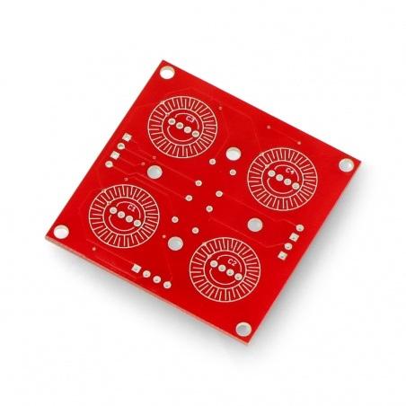 Płytka do przycisków - klawiatura 2x2 - SparkFun COM-09277