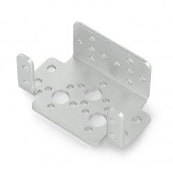 Aluminiowy uchwyt do serwa Feetech FK-MB-001 - srebrny