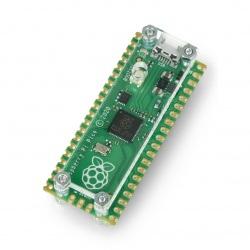 Obudowa do Raspberry Pi Pico otwarta - przezroczysta