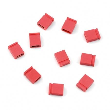 Zworka, jumper czerwony - 10szt.