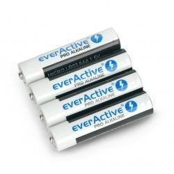 Bateria AAA (R3 LR03) alkaliczna everActive Pro - 4szt.