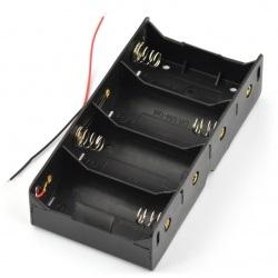 Koszyk na 4 baterie typu D (R20)
