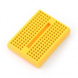 Płytka stykowa - 170 otworów - żółta