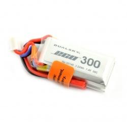 Pakiet Li-Pol Dualsky 300mAh 30C 2S 7.4V