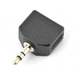 Adapter 3-pinowy wtyk Jack...
