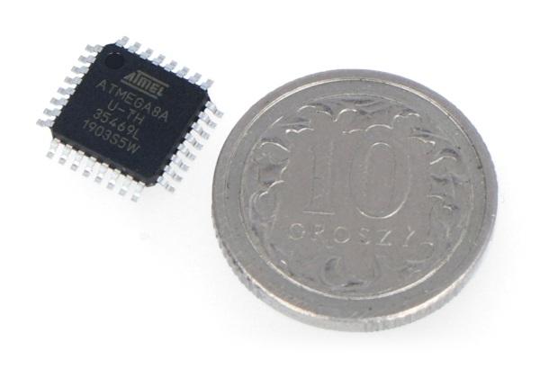 Mikrokontroler AVR - ATmega 8A-AU SMD