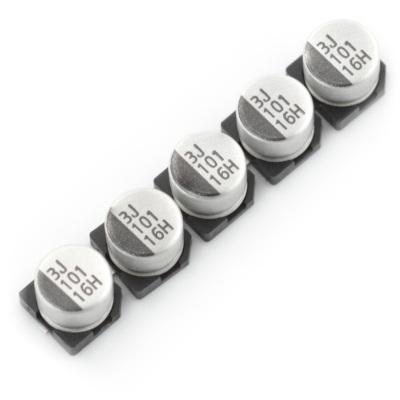 Kondensator elektrolityczny 100uF/16V SMD - 5szt.