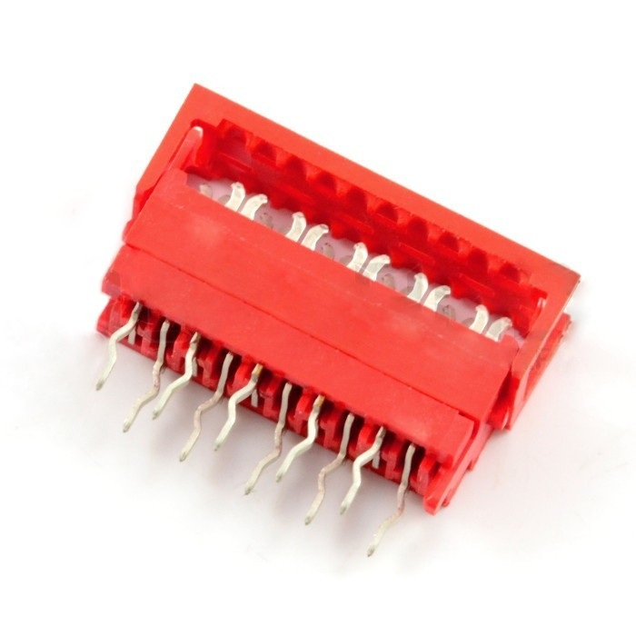 Złącze Micro-Match na taśmę 10 pin