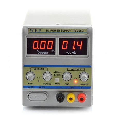 Zasilacz laboratoryjny WEP  PS-305D